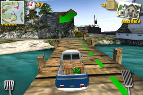 Paket Panik - Post Car Racer 3D für iPhone