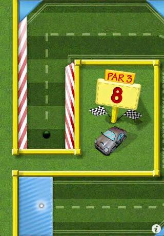 Mini Touch Golf für iPhone