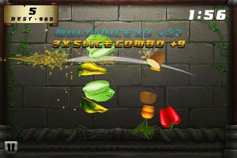 Veggie Samurai HD für iPad