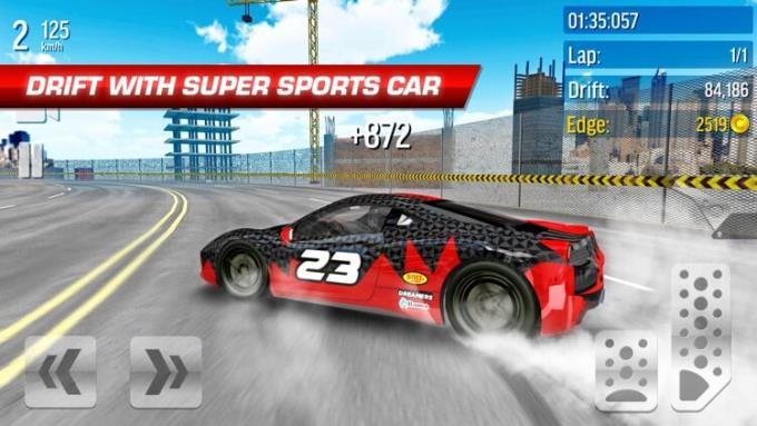 Drift Max City - Autorennen für iOS Version 3 - Hochgeschwindigkeits-Rennspiel auf iPhone / iPad
