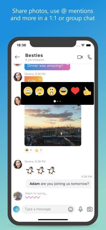 Skype für iPhone 8.66 - Kostenloser Videoanruf, Chat und Skype auf dem iPhone