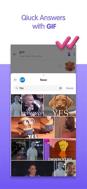 Viber Messenger für iOS 14.4.0 - Kostenlose Videoanrufe, Anrufe, SMS auf dem iPhone / iPad