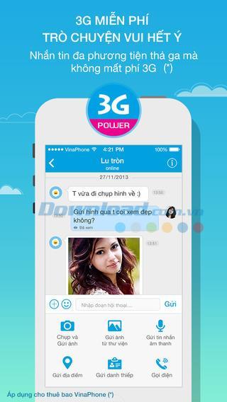 VietTalk für iOS 1.1.8 - Multimedia-Chat-Anwendung auf iPhone / iPad
