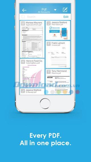 Inboxcube for iOS 2.2.7-iPhone / iPadで複数のメールアカウントでログインする