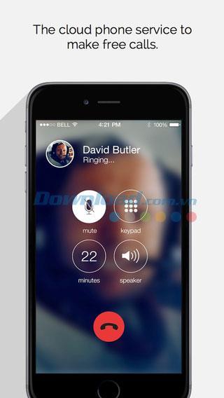 Upp Talk pour iOS 2.5 - SMS et appels gratuits sur votre iPhone / iPad