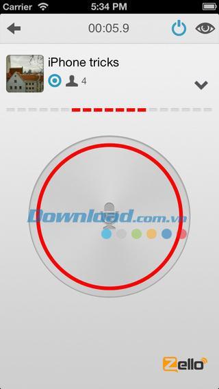 Zello Walkie Talkie for iOS 3.4-iPhone / iPadで無料チャット