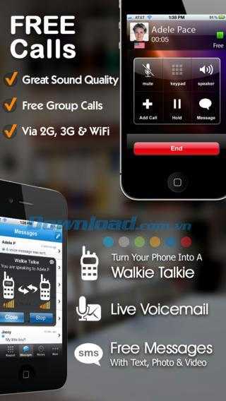 Dingtone für iOS 3.1 - Kostenlose Anrufe und SMS auf iPhone / iPad