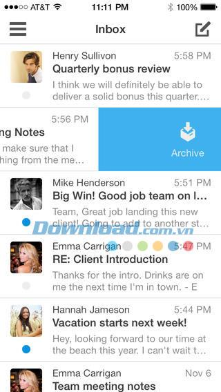 Boxer Lite für iOS 4.6 - E-Mail-Manager für iPhone / iPad