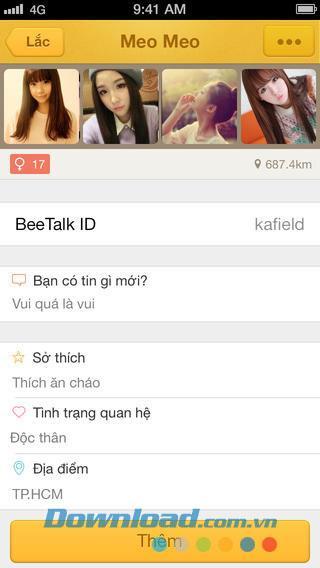 BeeTalk für iOS 1.2.43 - Kostenlose Messaging-Anwendung
