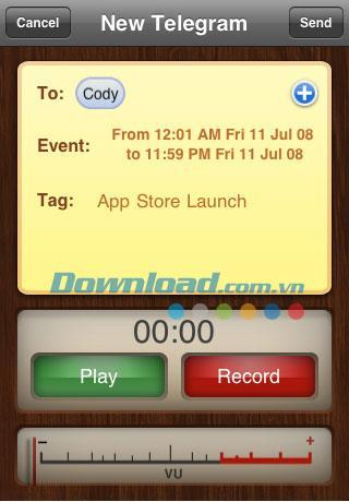 Telegram Lite for iPhone1.02-iPhoneで無料で電報を送信する