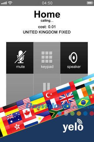 Yeloworld für iOS 2.2 - Günstige Auslandsgespräche auf iPhone / iPad