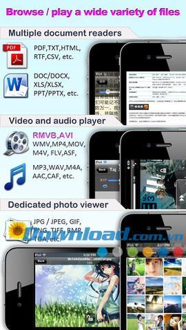 iFileExplorer pour iOS 5.18 - Gestionnaire de fichiers pour iPhone / iPad