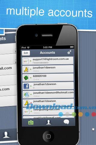 TalkRoom for iOS 1.3.2-iPhone / iPad用のマルチサービスチャットソフトウェア