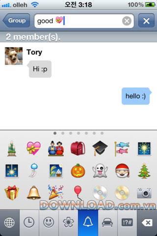 Chatterbox pour iOS - Chat logiciel pour iPhone