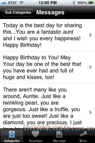 iOSの誕生日メッセージ-iPhoneの誕生日メッセージのサンプル