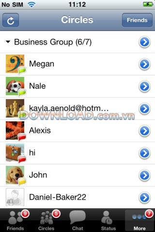 Live Messenger Pro für iOS - Chat-App für iOS
