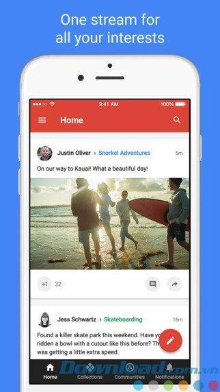 Google+ für iOS 6.60 - Greifen Sie auf dem iPhone / iPad auf das soziale Netzwerk Google Plus zu