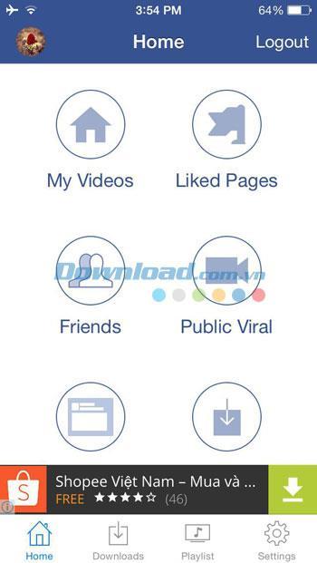 Facebook for iOS2.3のビデオダウンロード-iPhone / iPadからFacebookビデオを無料でダウンロード