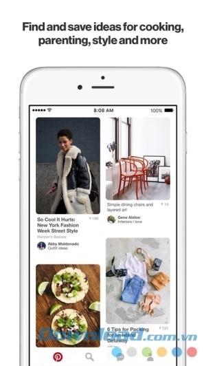 Pinterest for iOS 8.4-iPhone / iPadでアイデアを共有するソーシャルネットワーク