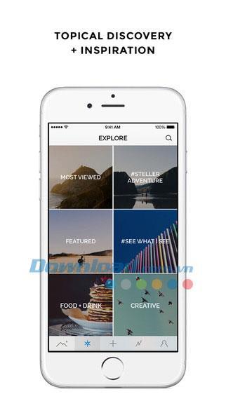 Steller für iOS 4.2.1 - Video- und Foto-Storytelling