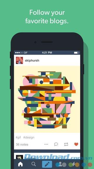 Tumblr für iOS 17.4 - Soziales Netzwerk für Entdecker