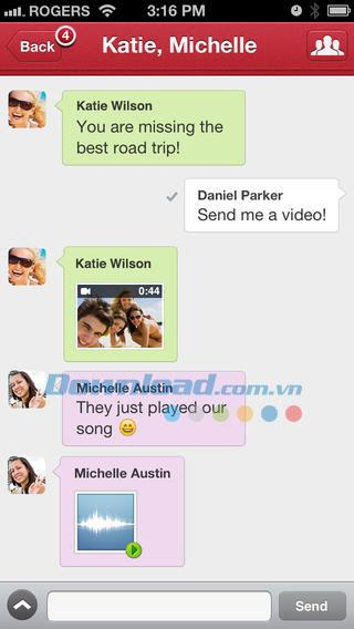 Touch für iOS 3.4.4 - Verbesserter Kommunikationsdienst auf iPhone / iPad
