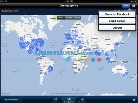 Weisheit für Facebook für iOS 1.3.2 - Aktualisieren Sie Nachrichten auf Facebook für iPhone / iPad