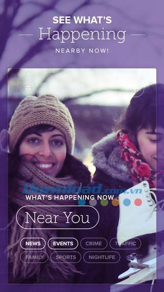 Circle pour iOS 3.6 - Le premier réseau social local pour iPhone / iPad