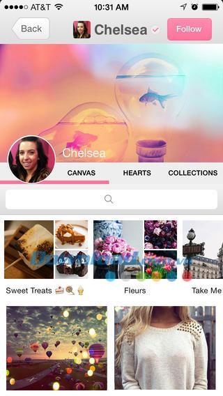 We Heart It for iOS 4.0.1 - Réseau de partage de photos unique sur iPhone / iPad