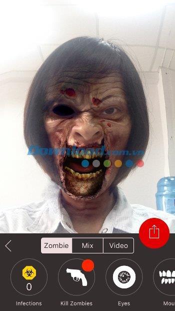 Zombify für iOS 1.5 - Sehr giftige Zombie-Fotoverarbeitung auf iPhone / iPad
