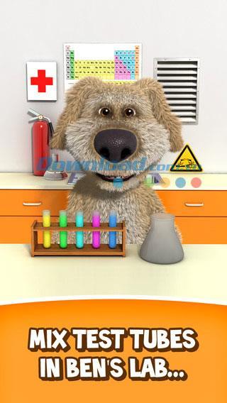 Talking Ben the Dog pour iOS 3.3.2 - Application d'animaux imitant la voix humaine
