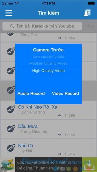 iKara pour iOS 6.3 - Meilleure application de karaoké sur iPhone / iPad