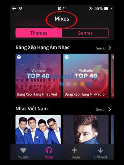 MixRadio for iOS 1.1.0-iPhone / iPadの無料音楽サービス