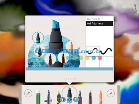 Pen & Ink für iPad 3.0.2 - Aquarell auf dem iPad
