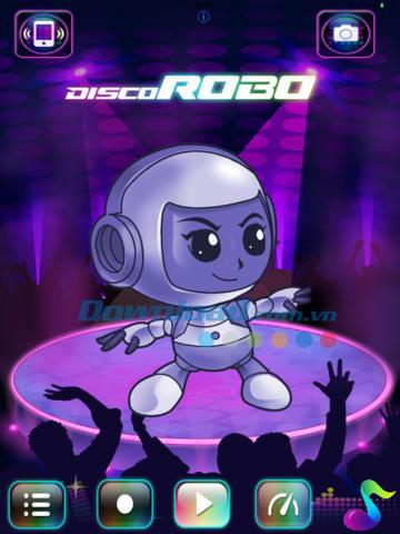 DiscoRobo Chat pour iOS 1.4 - Discutez avec DiscoRobo sur iPhone / iPad