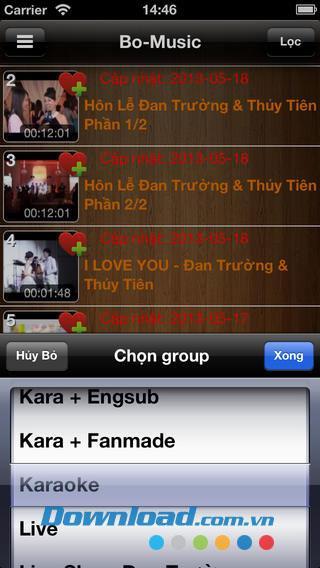Bo-Music für iOS 1.0 - Dan Truong Musiksyntheseanwendung