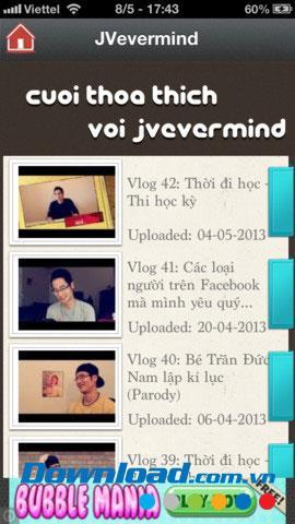 Blog Viet pour iOS 1.0.1 - Application d'agrégation de blogs vidéo