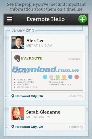 Evernote Hello for iOS 2.1-iPhone / iPad用の無料のメモ帳アプリ