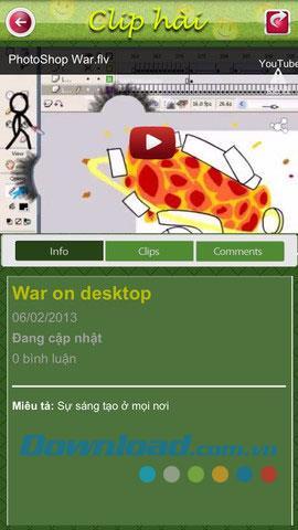Comedy-Clip für iOS 1.0 - Video-Comedy-Synthese