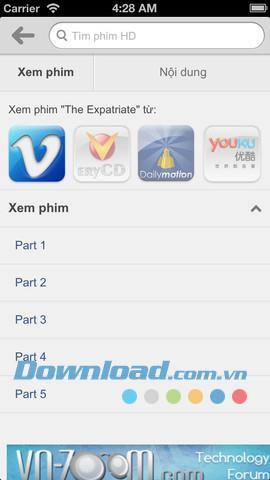 iOS1.0.1用のTimHD-HD映画を見つけて見る