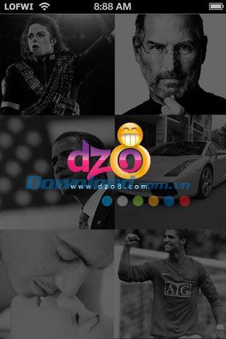 Dzo8 News für iOS 1.0 - Anwendung zur Aggregation von Nachrichten