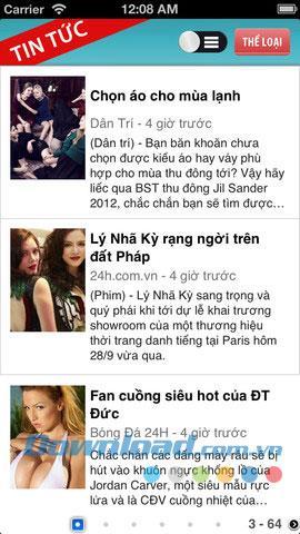 News für iOS 1.1 - Newsreader-Anwendung