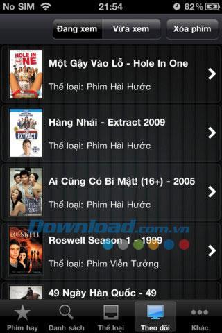 Films pour iOS 1.5.6 - Application de films