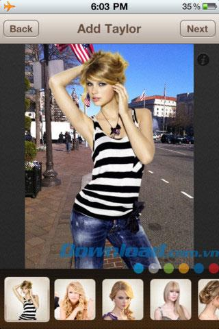 Taylor Swift Photos pour iOS 4.0 - Taylor Swift Photo Collage pour iPhone / iPad
