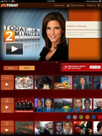 AUJOURD'HUI pour iPad 1.1.7 - Regardez la chaîne AUJOURD'HUI sur iPad