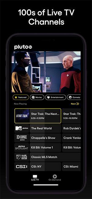 Pluto TV for iOS 5.5-iPhone / iPadでオンラインでテレビを見る