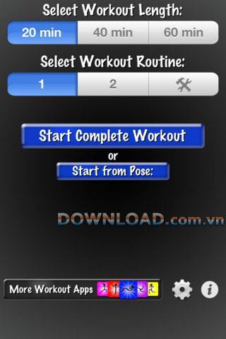 Simply Yoga Free für iOS - Lernen Sie die Yoga-Grundlagen auf dem iPhone