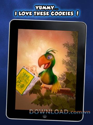 Peter Parrot HD foriPad-iPadで人間の声をシミュレートするアプリケーション