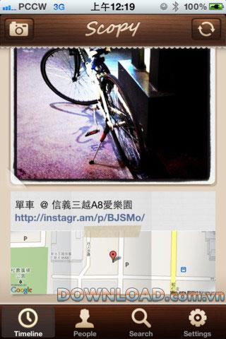 Scopy for iOS-iPhoneのTwitter写真アクセスソフトウェア