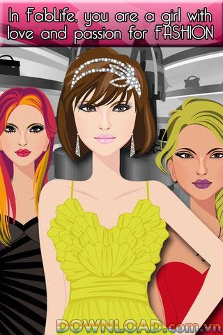 Fab Life pour iOS - Jeu pour les adeptes de la mode